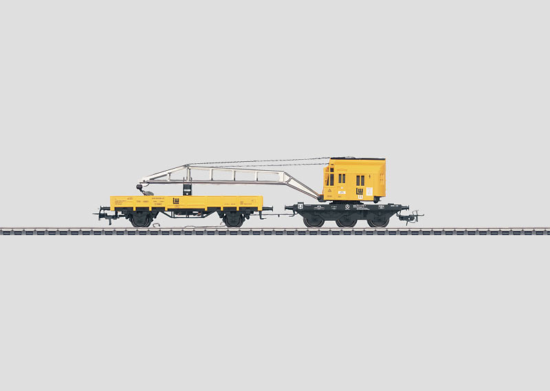 Crane Car Set with Working Digital Functions.
