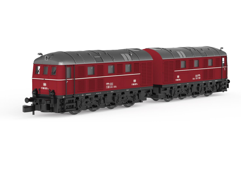 Double Diesel Locomotive, Road Number V 188 001
