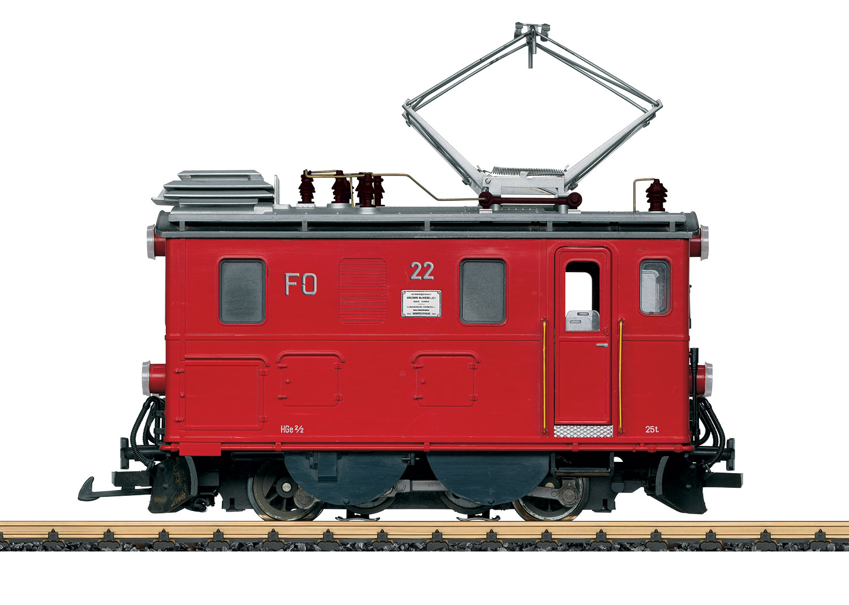 FO Class HGe 2/2 Rack Railway Electric Locomotive