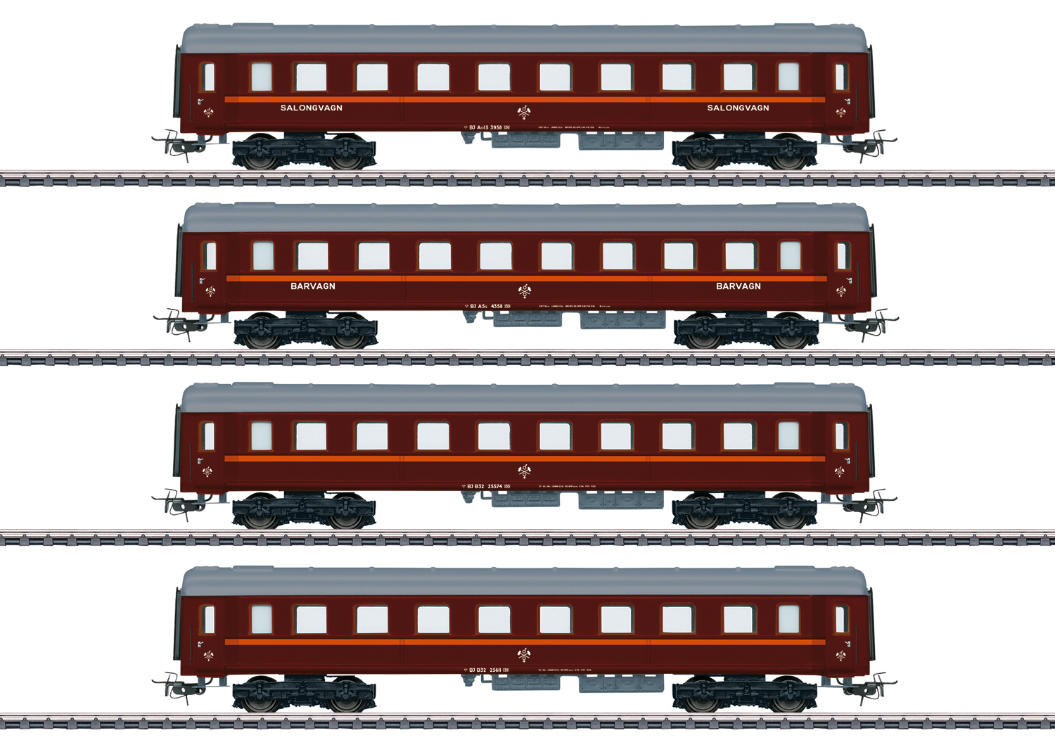 """Tin-Plate"" Passenger Car Set"