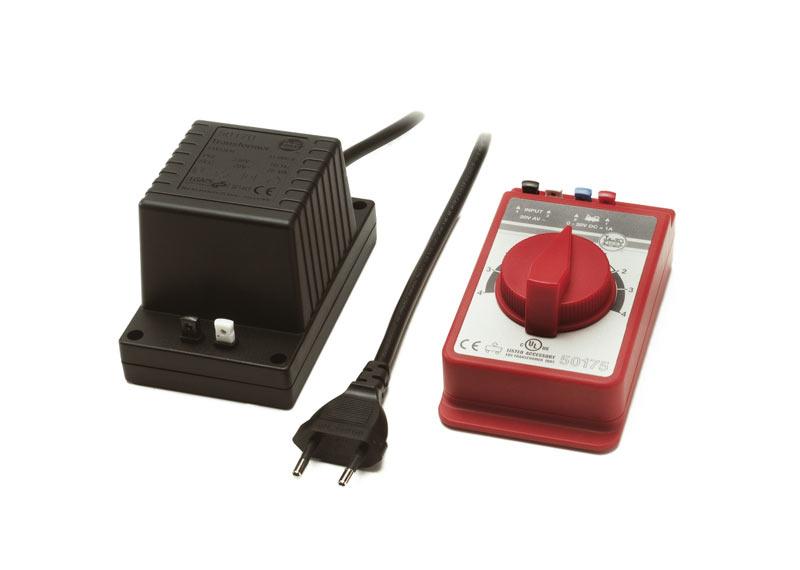 Trafo und Regler, 1 Ampere, 100 Volt