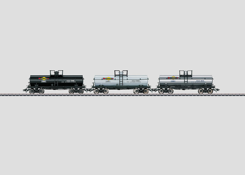 Set mit 3 Tank Cars.