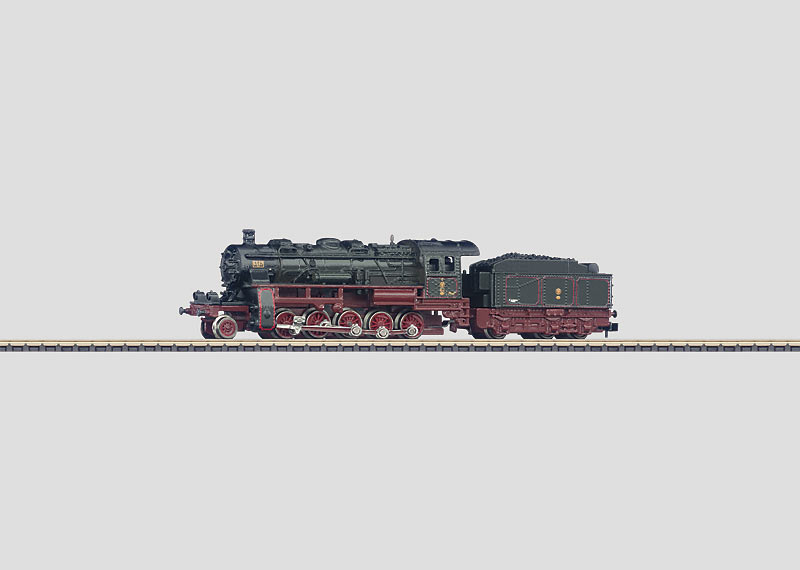 Freight Locomotive with a Tender.
