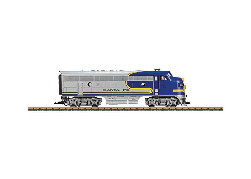 "Diesellok F7 A-Unit ""Santa Fe"" 330"